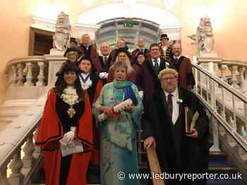 Former mayor granted freedom of Hereford