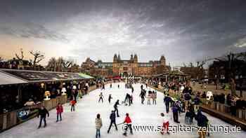Wolfenbütteler können auf dem Schlossplatz Schlittschuh laufen