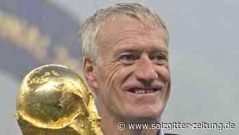 Weltmeister-Coach: Bis 2022:Deschamps verlängert als Frankreich-Trainer
