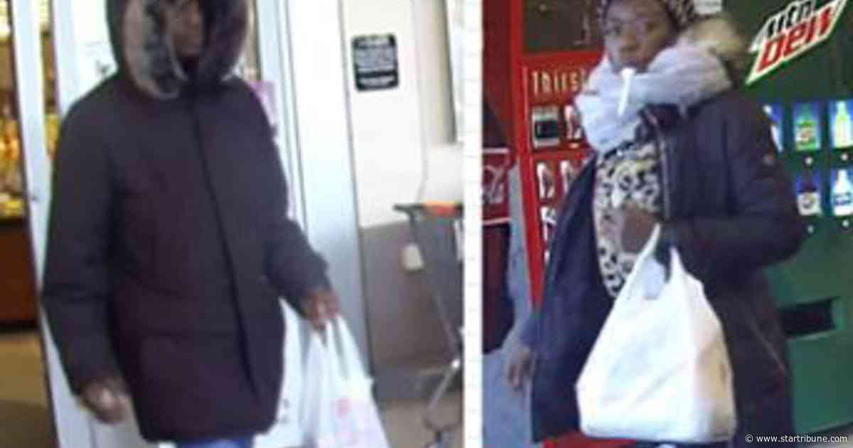 Shoppers tell Apple Valley police that pair used distraction to swipe their wallets