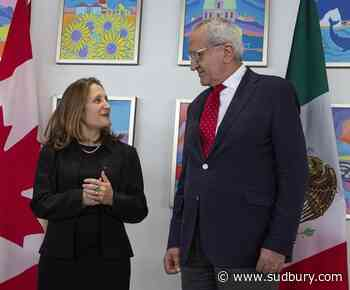 Chrystia Freeland to sign new NAFTA deal with U.S., Mexico