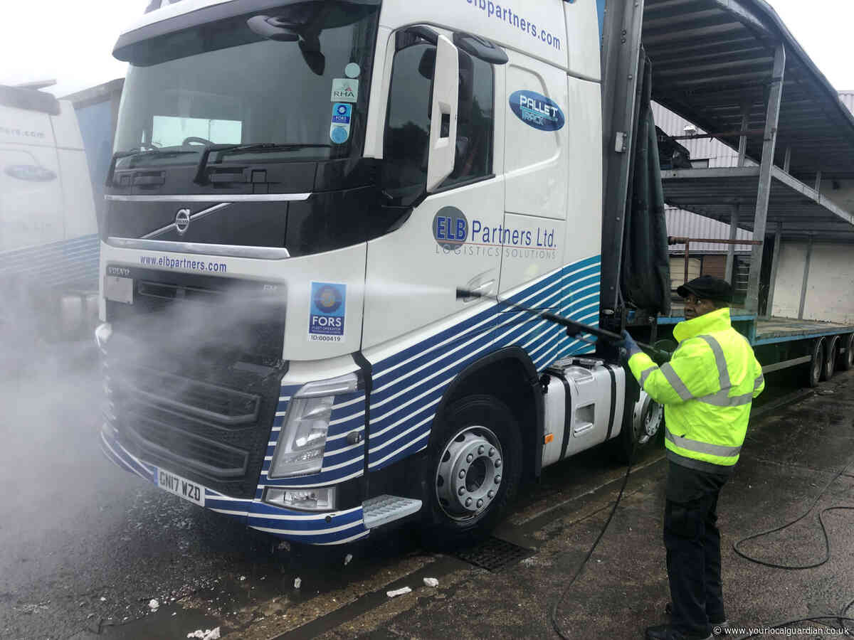 Wimbledon truck cleaner, 74, has no plans to hang up the power washer