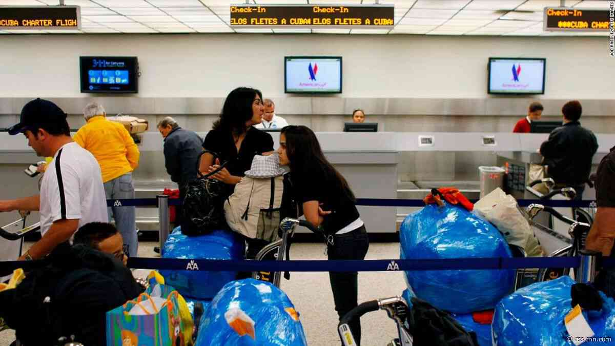 US scraps flights to nine Cuban destinations, adding to list of punishing sanctions