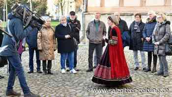 Dreharbeiten in Fallersleben mit Rekord-Ortsbürgermeisterin