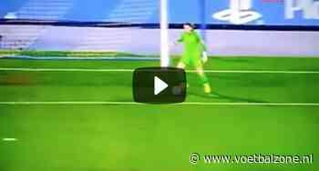 VIDEO – Drama voor Maarten Vandevoordt (17 jaar en 287 dagen) bij CL-debuut