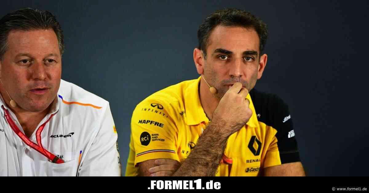 Cyril Abiteboul: Platz vier nicht gut genug für Renault
