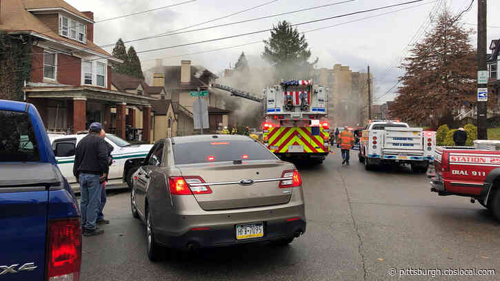 Crews Battle Heavy Smoke Pouring From Historic Honus Wagner House In Carnegie