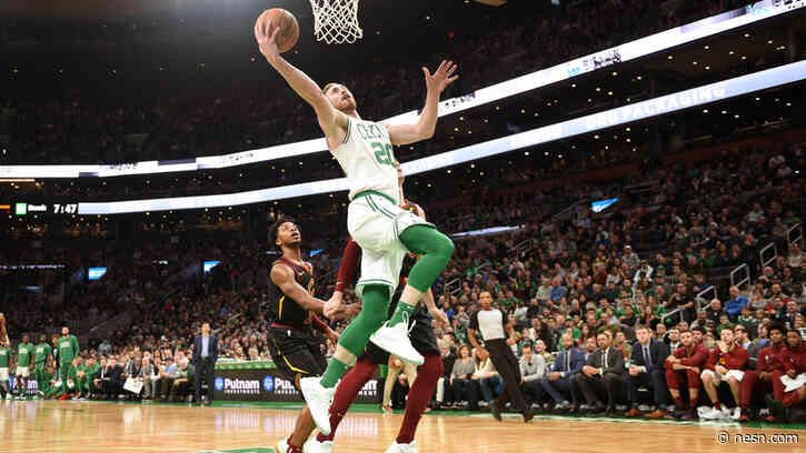 Celtics' Gordon Hayward's Return Vs. Cavs Was 'Good Test' For Forward