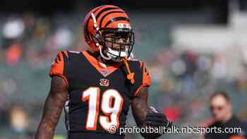 Bengals put Auden Tate on injured reserve