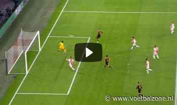 VIDEO - Slordig Ajax komt op achterstand tegen Valencia