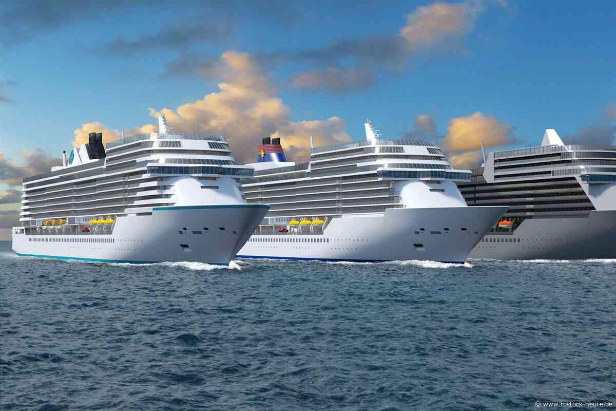 Bei MV Werften in Rostock-Warnemünde wurde heute das zweites Schiff der Global Class auf Kiel gelegt und die neue Serie der Universal-Class-Schiffe gestartet