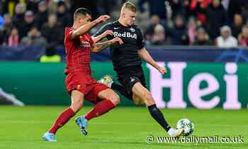 Manchester United make ANOTHER check on Salzburg's Erling Braut Haaland in Liverpool loss