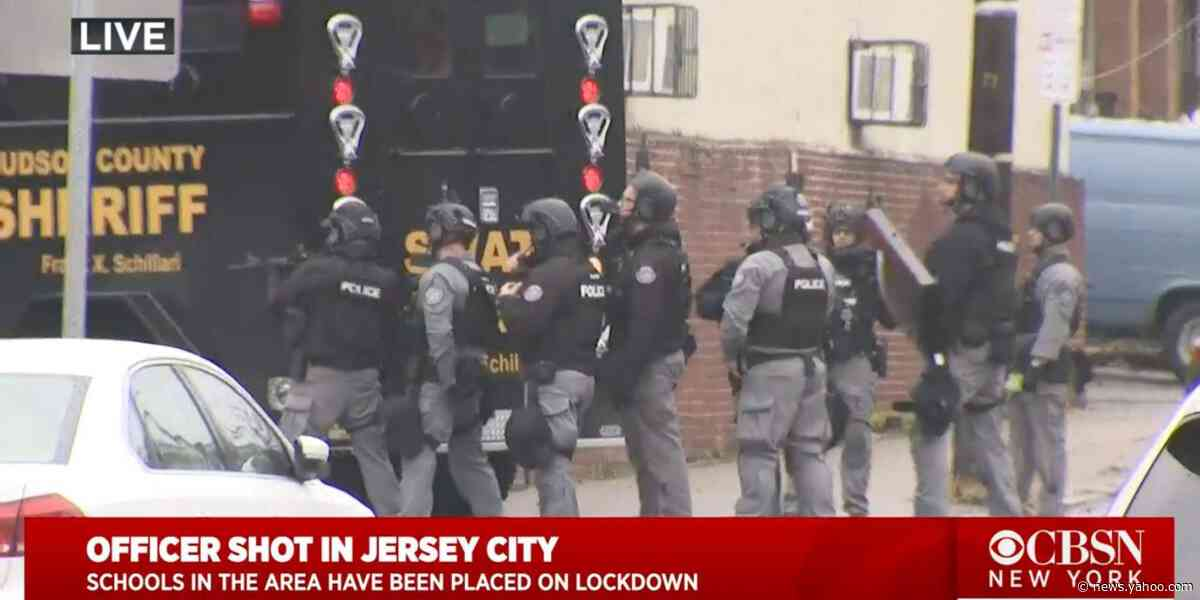 An active shooting in Jersey City, New Jersey, has left at least one police officer dead and 3 other officers injured