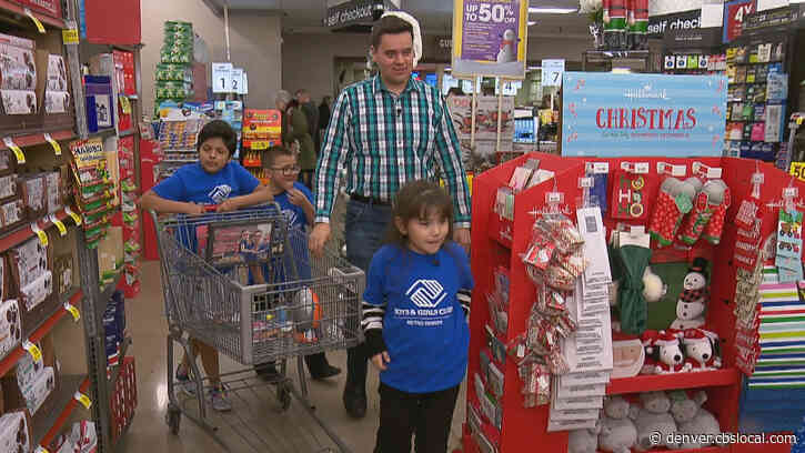 """""""I Think We Did A Great Job"""":  Boys & Girls Club Members Go Shopping For Together 4 Colorado Toy Drive"""