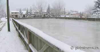 City of Regina begins flooding outdoor skating rinks