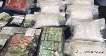 RCMP raids net largest meth bust in Manitoba history, Calgary Hells Angels member arrested