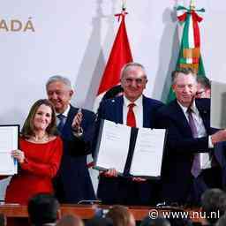 VS, Mexico en Canada bereiken akkoord over nieuw handelsverdrag