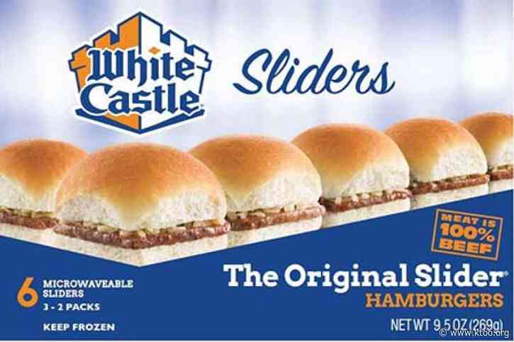 White Castle recalling frozen sliders because of possible listeria