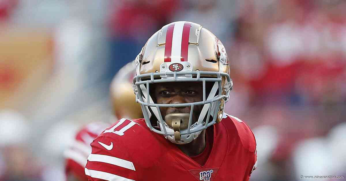 49ers place WR Marquise Goodwin on IR; sign LB Joe Alfieri to practice squad