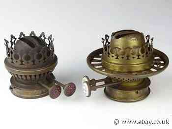 2 Antique Oil Lamp Burners For Spares Repairs Hinks Youngs Antiques News Newslocker