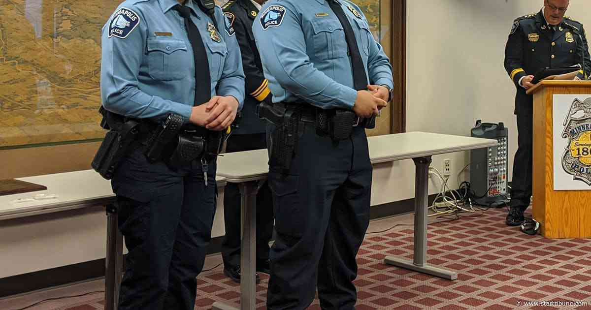 Minneapolis, Park police officers recognized for bravery, heroism on the job