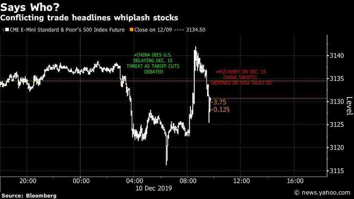 Asian Stocks to Mark Time as Trade Deadline Looms: Markets Wrap