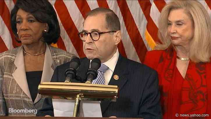 Democrats Map Trump Impeachment Path on Power Abuse, Obstruction