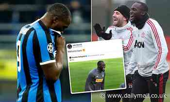 Luke Shaw mocks Romelu Lukaku with 'welcome back' tweet after Inter crash out of Champions League