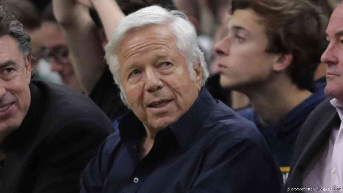 "Robert Kraft declines to address Spygate 2: ""You know everything you should know"""