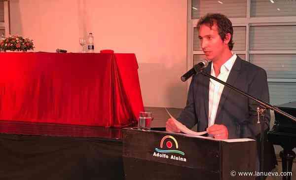 """Adolfo Alsina: """"Cada acción en los próximos cuatro años estará orientada al crecimiento sostenible"""", dijo Andres"""