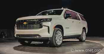 2021 Chevy Suburban debuts with optional diesel power     - Roadshow