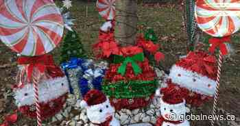 Oshawa mother upset after Christmas decorations removed from son's memorial tree
