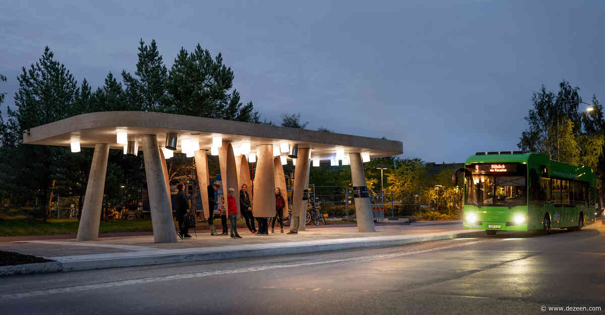 Rombout Frieling Lab creates interactive Arctic bus stop