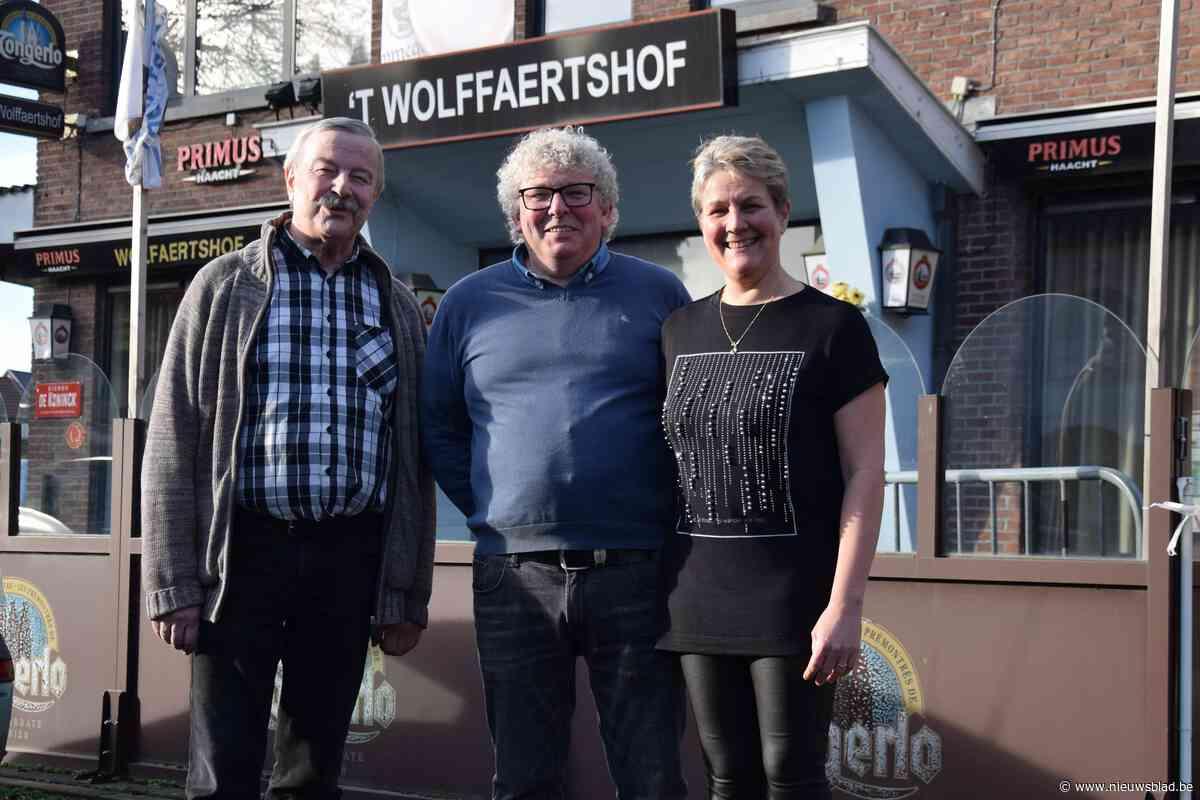 Café 't Wolffaertshof wordt taverne met nieuwe eigenaars