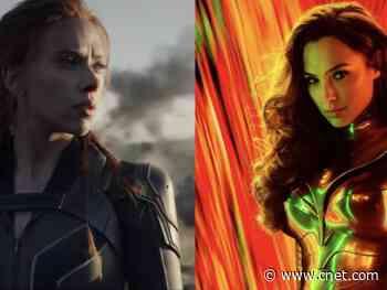 Black Widow trailer gets stunning Wonder Woman 1984 remix     - CNET