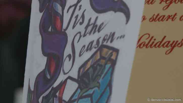 Inmates Design Holiday Cards To Lift Spirits: 'It's A Picker Upper'