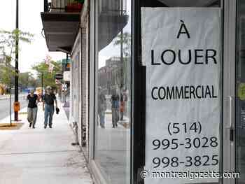 Montreal seeking solutions to overcome its empty storefront problem