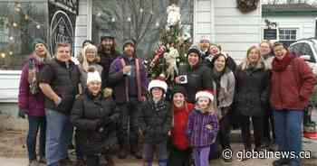 Village of Bath community comes together to replace and decorate stolen Christmas tree