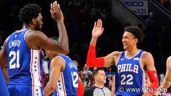 76ers bury the nuggets