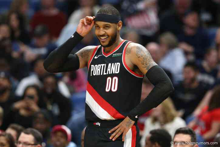 And-Ones: Melo, Morris, Pistons, Holmes