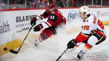 Flames keep firing on all cylinders as unlikely offence helps cut down Coyotes