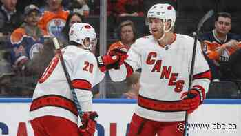 Oilers' 3-goal comeback immediately erased in up-and-down loss to Hurricanes