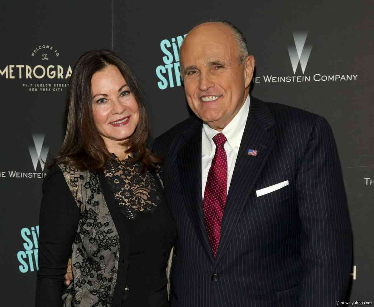 Report: Giuliani settles long divorce from his third wife