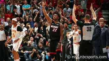 """Trae Young waved """"game over,"""" after Heat comeback win Jimmy Butler mocked him"""