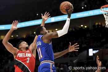 Reeling Knicks drop 10th straight, 115-87 to Trail Blazers