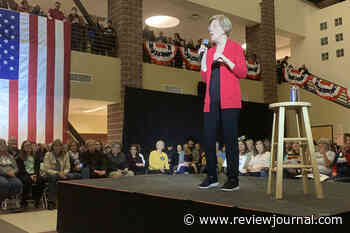 Elizabeth Warren blasts Trump during Reno visit