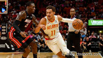 Trae Young tells Miami crowd 'it's over,' Heat promptly outscore the Hawks 24-4 after that to win in overtime