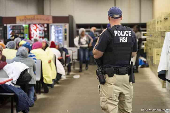 U.S. interior immigration arrests fell despite Trump push