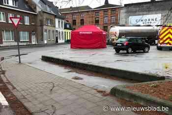 Kind doodgereden door vrachtwagen in centrum Aalst