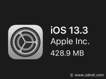 iOS 13.3 brings bug fixes and a new security feature, but does it bring new bugs
